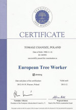 European Tree Worker 2012